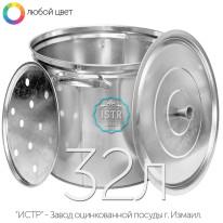 Бак оцинкованный хозяйственный — 32 литра