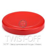Крышка Твист-Офф — 82 «Красная» (винтовая) TWIST-OFF red